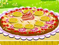 Fruit Pizza Deco