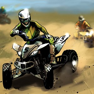 3D Quad Biking