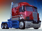 Optimus Prime Truck Jigsaw
