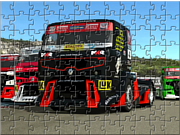 Racing Truck Puzzle